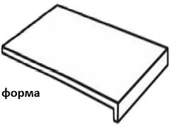 Фото Zeus Ceramica ступень с капиносом Allwood Grey прямая 15x34.5 (SZBXWU8RP)
