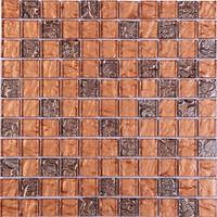 Фото Котто Кераміка мозаика GM 8017 C2 Brown Rose/Bronze 30x30