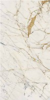 Фото Ragno ceramica плитка Maiora Marble Effect Calacatta Oro Glossy Rettificato 120x240 (R6RI)