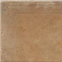 Фото Cerrad ступень угловая Piatto Engraved Stair Honey 30x30 (18709)