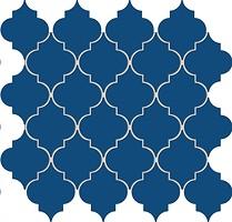 Фото Arte мозаика Avignon Cobalt 26.4x26.4