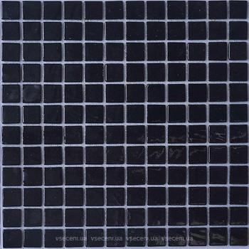 Фото AquaMo мозаика Monocolor Black 31.7x31.7 (MK25109)