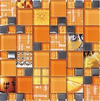 Фото Intermatex мозаика Carnaval Orange 30x30