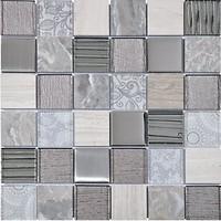Фото Intermatex мозаика Elements Grey 30x30