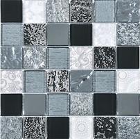 Фото Intermatex мозаика Elements Black 30x30