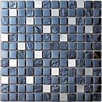 Фото Intermatex мозаика Diamond Black 30x30