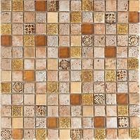 Фото Intermatex мозаика Imperium Gold 30x30