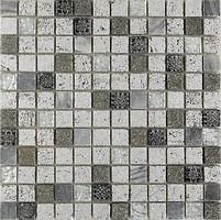 Фото Intermatex мозаика Imperium Silver 30x30