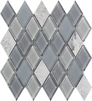 Фото Intermatex мозаика Jewel Grey 28.6x31