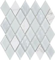 Фото Intermatex мозаика Jewel White 28.6x31