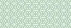 Фото Golden Tile декор Arcobaleno Argento 4 20x50 мятный (9МL441)