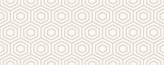 Фото Golden Tile декор Arcobaleno Argento 5 20x50 айвори (9МА451)