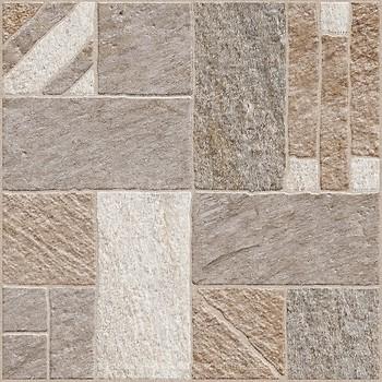 Фото Golden Tile плитка напольная Misto Mattone коричневая 40x40 (3F7830)