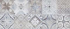 Фото Ceramika Konskie декор Moris Patchwork Grey 25x60