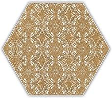 Фото Ceramika Paradyz декор Shiny Lines Heksagon Inserto E Gold 17.1x19.8