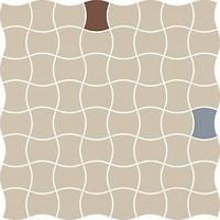 Фото Ceramika Paradyz мозаика Modernizm Mozaika Prasowana Bianco Mix A 30.9x30.9