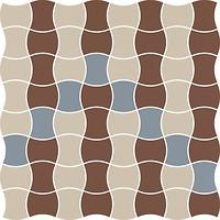 Фото Ceramika Paradyz мозаика Modernizm Mozaika Prasowana Bianco Mix B 30.9x30.9