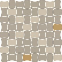 Фото Ceramika Paradyz мозаика Modernizm Mozaika Prasowana Bianco Mix D 30.9x30.9
