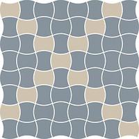Фото Ceramika Paradyz мозаика Modernizm Mozaika Prasowana Blue Mix 30.9x30.9