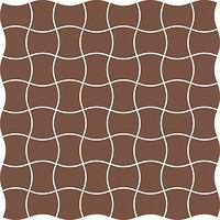 Фото Ceramika Paradyz мозаика Modernizm Mozaika Prasowana Brown 30.9x30.9