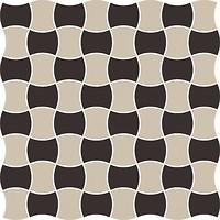 Фото Ceramika Paradyz мозаика Modernizm Mozaika Prasowana Nero Mix C 30.9x30.9