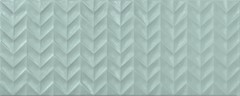 Фото APE плитка настенная Arts Tip Turquoise 25x50
