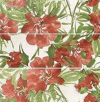 Фото APE декор-панно Flow Botanic 100x100 (комплект 3 шт)