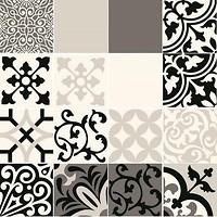 Фото Tubadzin Zien декор Beat of White Patch A 59.8x59.8 (комплект 16 шт)