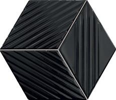 Фото Tubadzin мозаика Colour Black 19.8x22.6