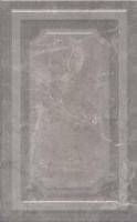 Фото Kerama Marazzi плитка настенная Гран Пале панель серая 25x40 (6354)