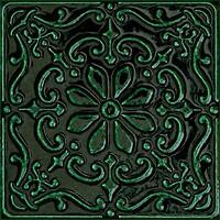 Фото Tubadzin Zien декор Tinta Green 14.8x14.8