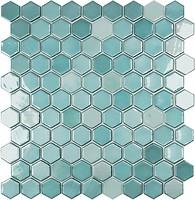Фото Vidrepur мозаика Lux 6001H Turquoise 31.5x31.5