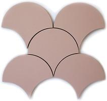 Фото Kotto Ceramica декор Scales CM 3114 SC Rose (d 147 mm) 14.7x14.7