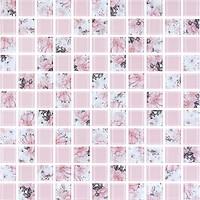 Фото Котто Кераміка мозаика GMP 0825008 C2 Print 8/Pink W 30x30