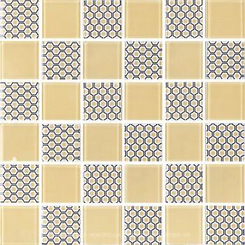 Фото Котто Кераміка мозаика GMP 0848003 CC Print 2/Ral 7047 30x30
