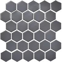 Фото Котто Кераміка мозаика Hexagon H 6003 Grey Shedol 29.5x29.5