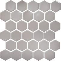 Фото Котто Кераміка мозаика Hexagon H 6004 Rosy Brown 29.5x29.5