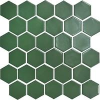 Фото Котто Кераміка мозаика Hexagon H 6010 Forestgreen 29.5x29.5