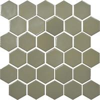 Фото Котто Кераміка мозаика Hexagon H 6012 Maus Grey 29.5x29.5