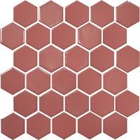 Фото Котто Кераміка мозаика Hexagon H 6015 Coral 29.5x29.5