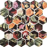 Фото Котто Кераміка мозаика Hexagon HP 6018 29.5x29.5