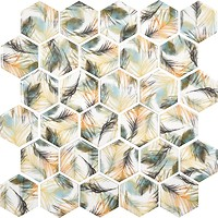 Фото Котто Кераміка мозаика Hexagon HP 6022 29.5x29.5
