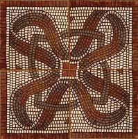Фото Gresmanc декор-панно Quijote Roseton Mosaico 62.5x62.5 (комплект 4 шт)
