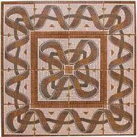 Фото Gresmanc декор-панно Quijote Roseton Mosaico 99.5x99.5 (комплект 16 шт)