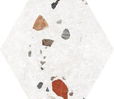 Фото Codicer 95 плитка Sonar Hex White 22x25