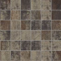 Фото La Fenice мозаика Oxydum Mosaico Su Rete Rust 30x30 (Tozz. 5x5)