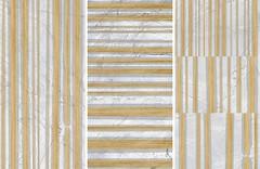 Фото LA Fabbrica декор-панно Marmi Conceptual Invisible Grey Lapp Rett 120x180 (135102) (комплект 3 шт)