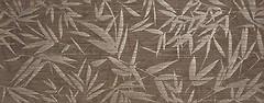 Фото La Platera плитка настенная Shui Leaves Brown 35x90
