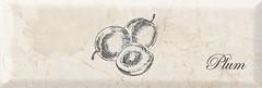 Фото Monopole Ceramica декор Mistral Fruit Plum Brillo 10x30