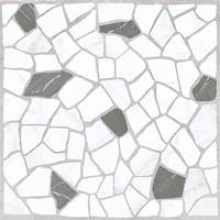 Фото Golden Tile плитка мозаичная Mosaic Stone белая 30x30 (8F0740)